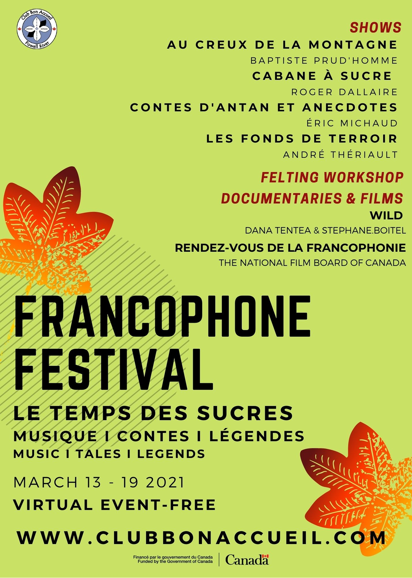festival francophone affiche